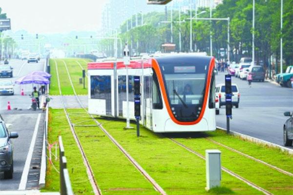 南京大汉阳有轨电车工程