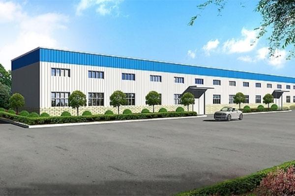 江苏市新洲永生机械厂钢结构厂房